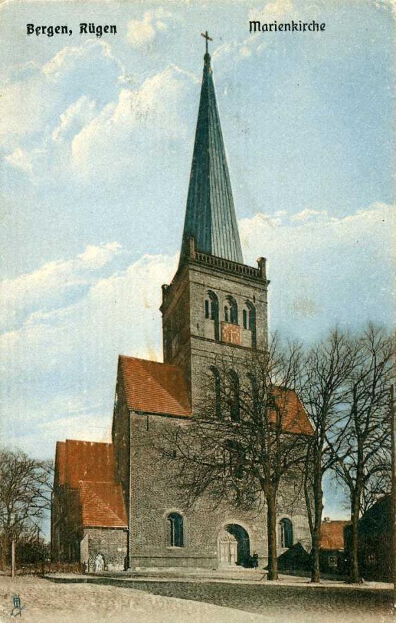 Bergen Rügen Marienkirche