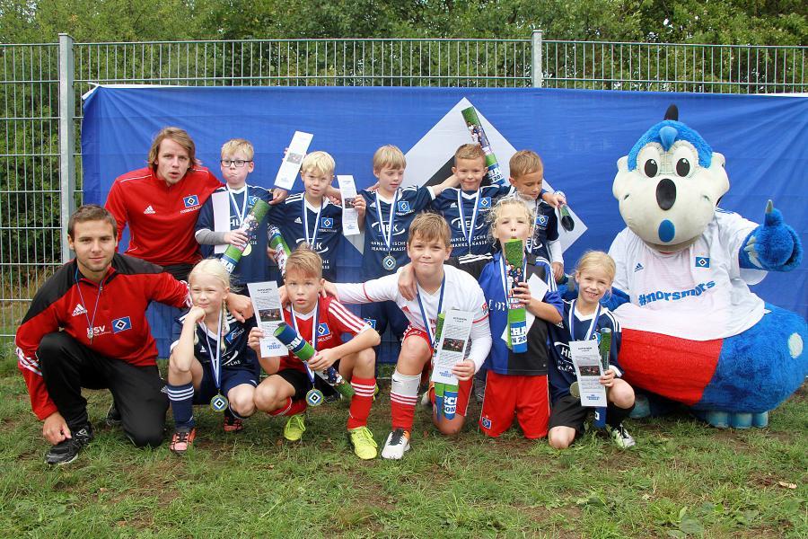 HSV - Fussballschulen-Cup Sieger 2018 -  U9