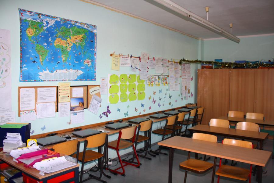 Klassenraum Klasse 6c