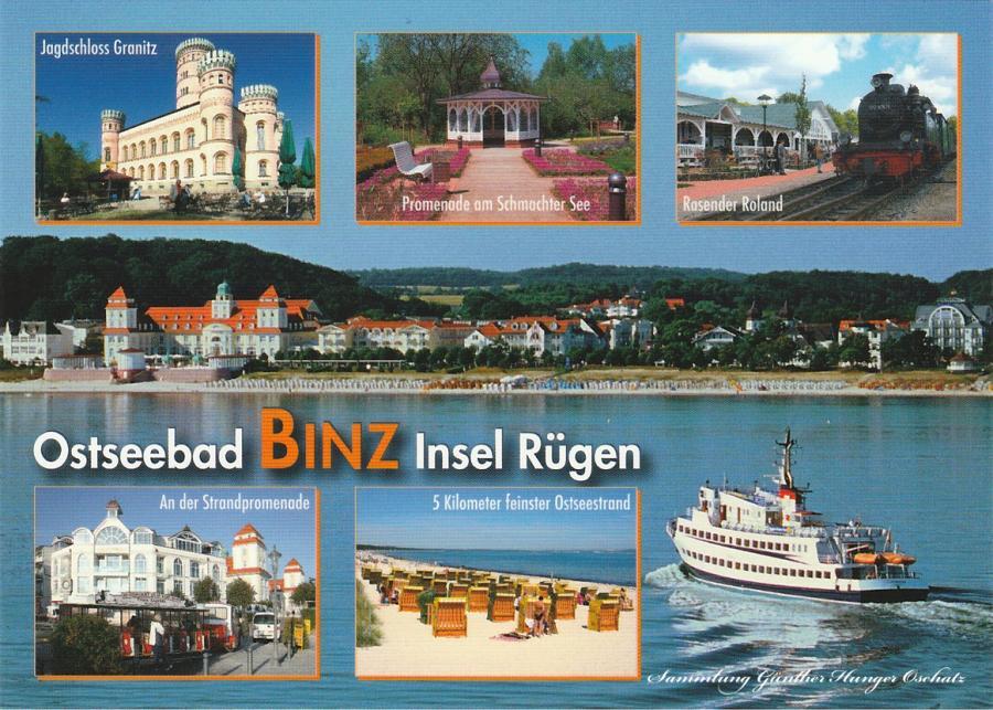 Ostseebad Bin/Insel Rügen