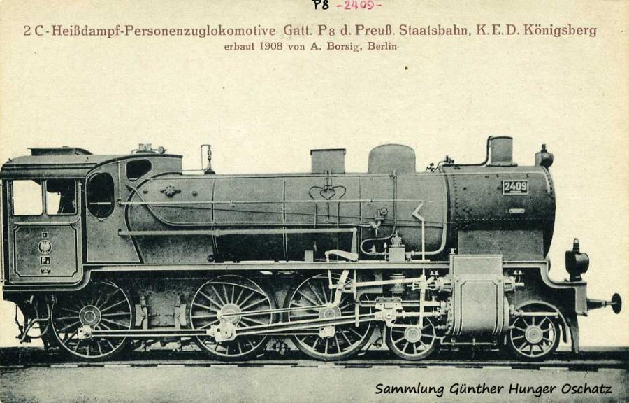 2 C- Heißdampf-Personenzuglokomotive