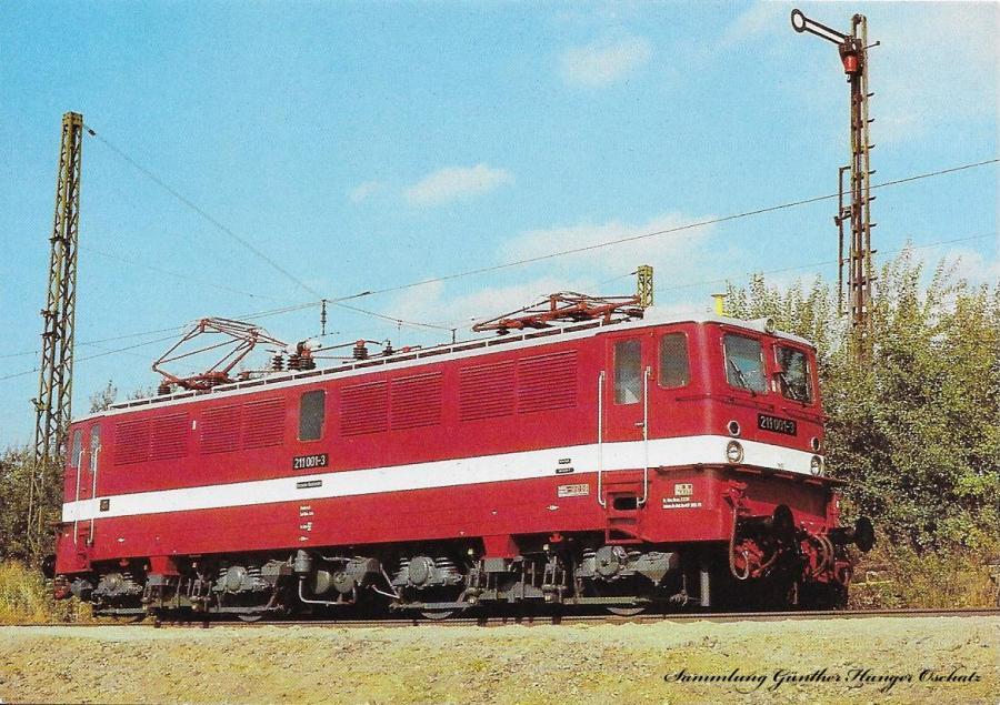 100 Jahre E-Lok Verkehrsmuseum Dresden Elektrische Schnellzuglokomotive der Baureihe 211 (früher E 11)