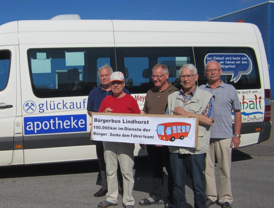 Bürgerbus Lindhorst fährt 100.000 km