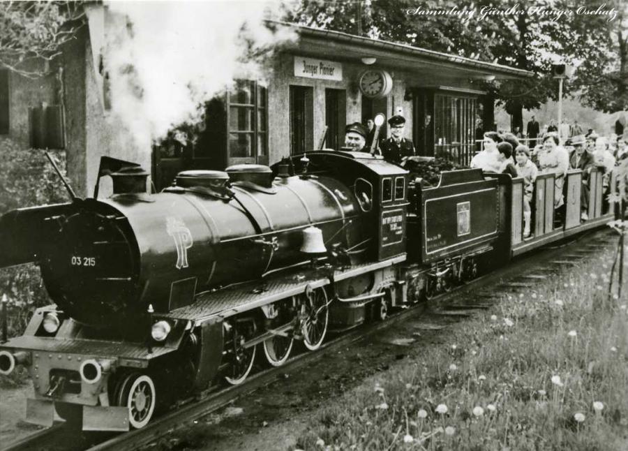 Pioniereisenbahn Leipzig 1981