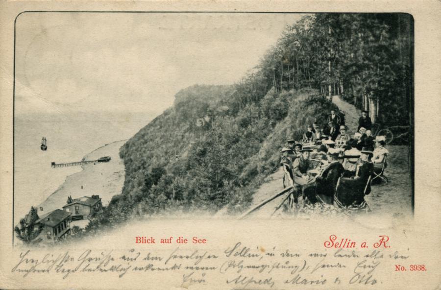 2 Sellin Blick auf die See 1901