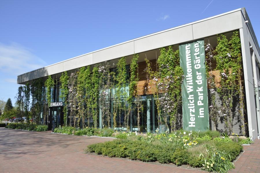 Eingang Gartenzentrum Niedersachsen