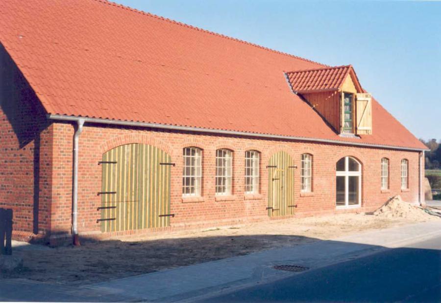 Umbau einer Schmiede zum Dorfgemeinschaftshaus