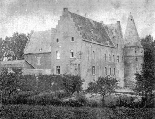 Burg Engelsdorf oben links