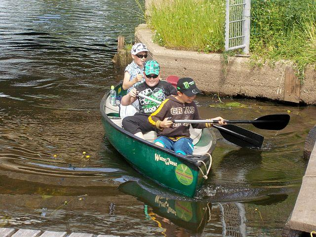 3er Canadier Klassenfahrt auf der Recknitz - Marlower Kanu- & Bootsverleih