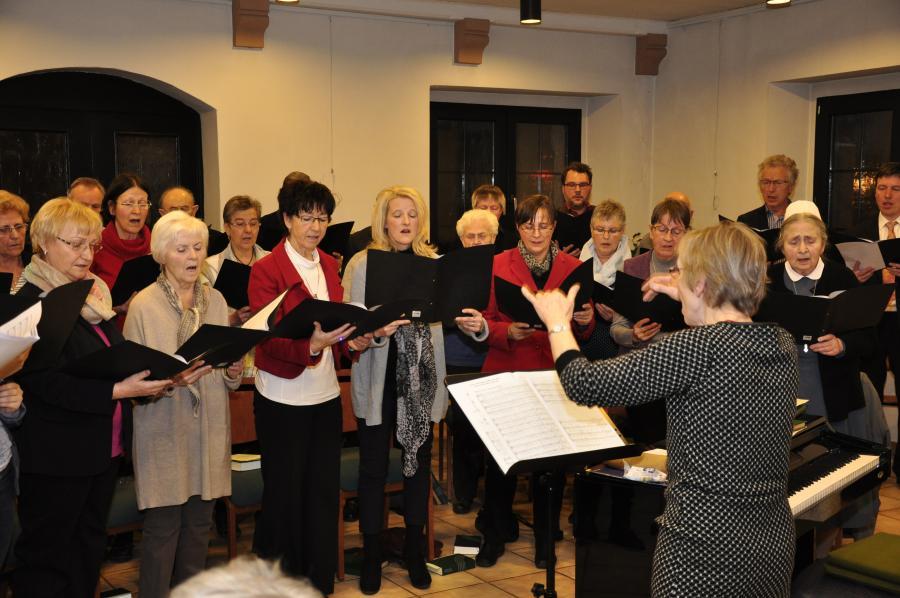 Chor der Region zur Adventsmusik im Dezember 2015