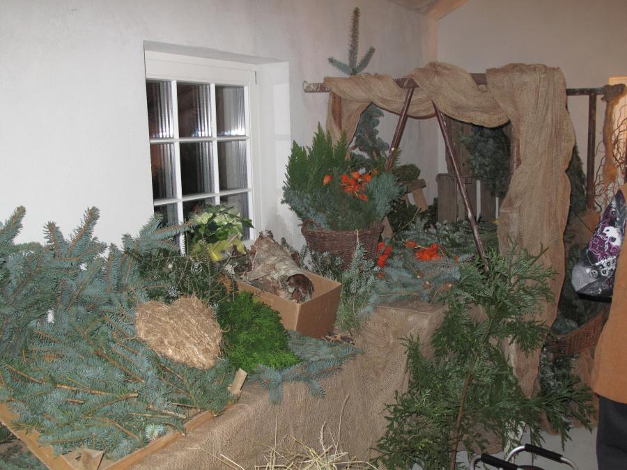 Weihnachtsbasteln in Weseram, hier gibts was für jeden Geschmack