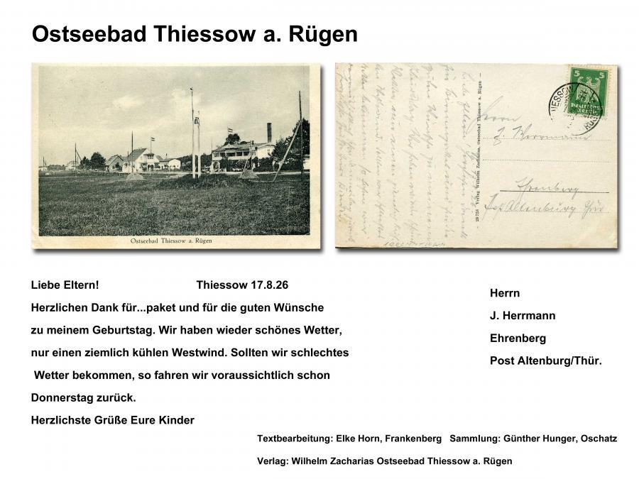 Ostseebad Thiessow