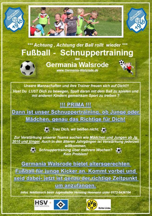 Plakat_Schnuppertraining