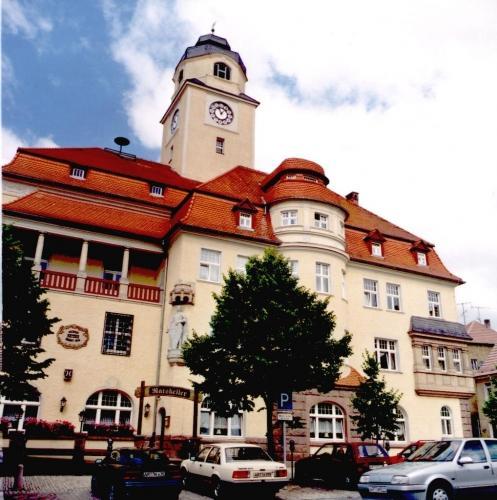 das Rathaus von Artern