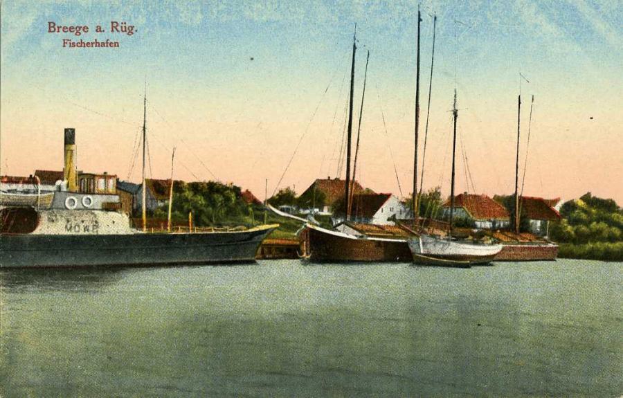 Breege a.Rüg. Fischerhafen