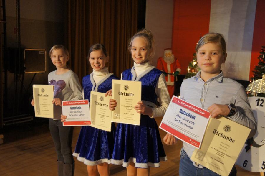 Teilnehmer Kreismathematikolympiade