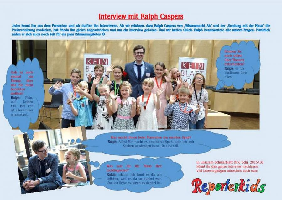 Interview Ralph Caspers