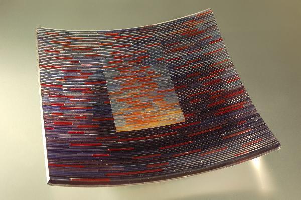 Foto: Ausstellungsobjekt des 5. Immenhäuser Glaspreises