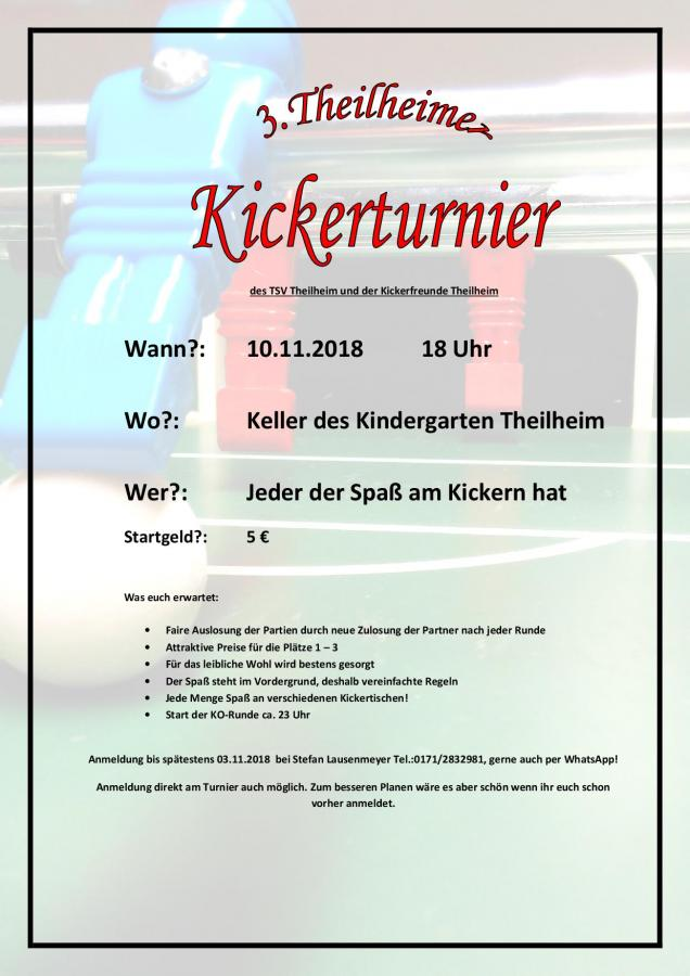 3. Kickerturnier