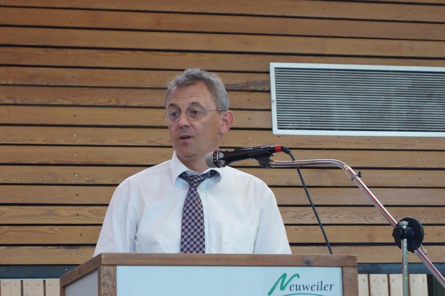 Bürgermeister Martin Buchwald