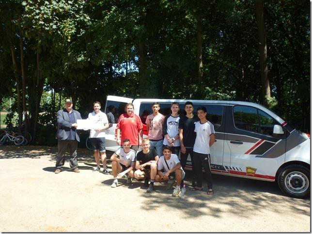 Vereinsbus des SV Lok Altenburg