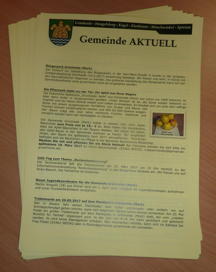 Gemeinde AKTUELL