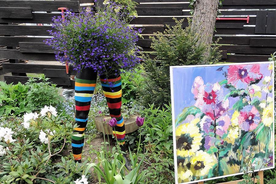 Ateliers_kunstvoller Blumentopf_Foto: Zaemsch_Radant