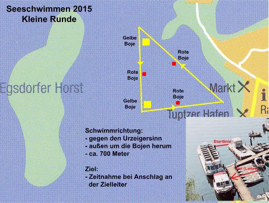 Seeschwimmen 2015 kleine Runde