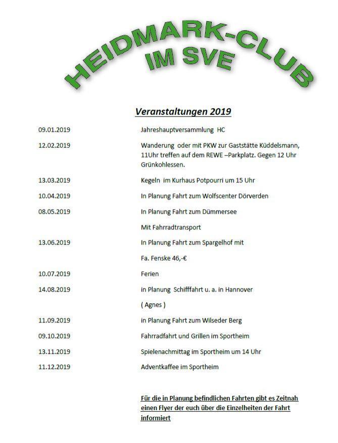 Heidmark Club