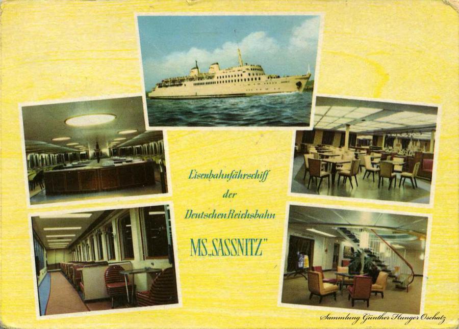Eisenbahnfährschiff der Deutschen Reichsbahn