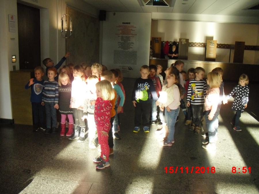 Kinder im Theater Senftenberg