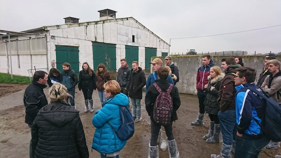 Betrriebsbesichtigung in der Agrargenossenschaft Altenburger Land