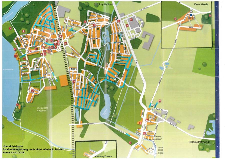 © Gemeinde Rangsdorf - Karte Stand 23.02.2018