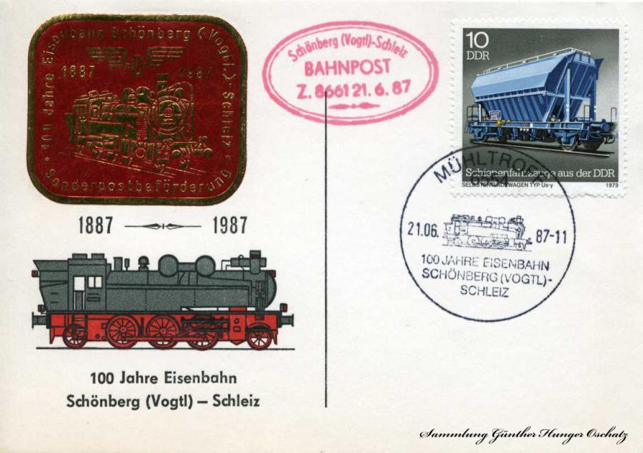 100 Jahre Eisenbahn Schönberg-Schleiz