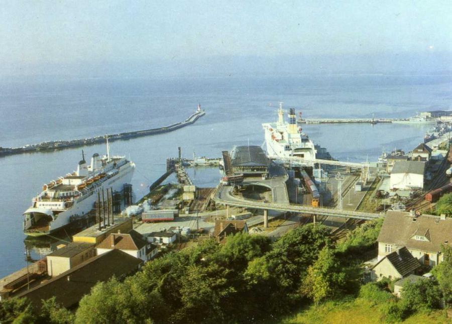 Saßnitz Fährhafen 1987
