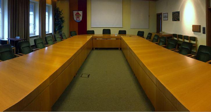 Sitzungssaal des Marktgemeinderates
