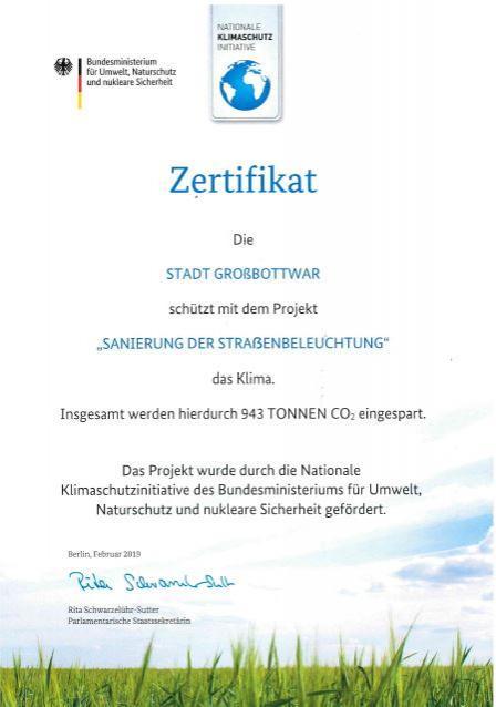 Bild Zertifikat