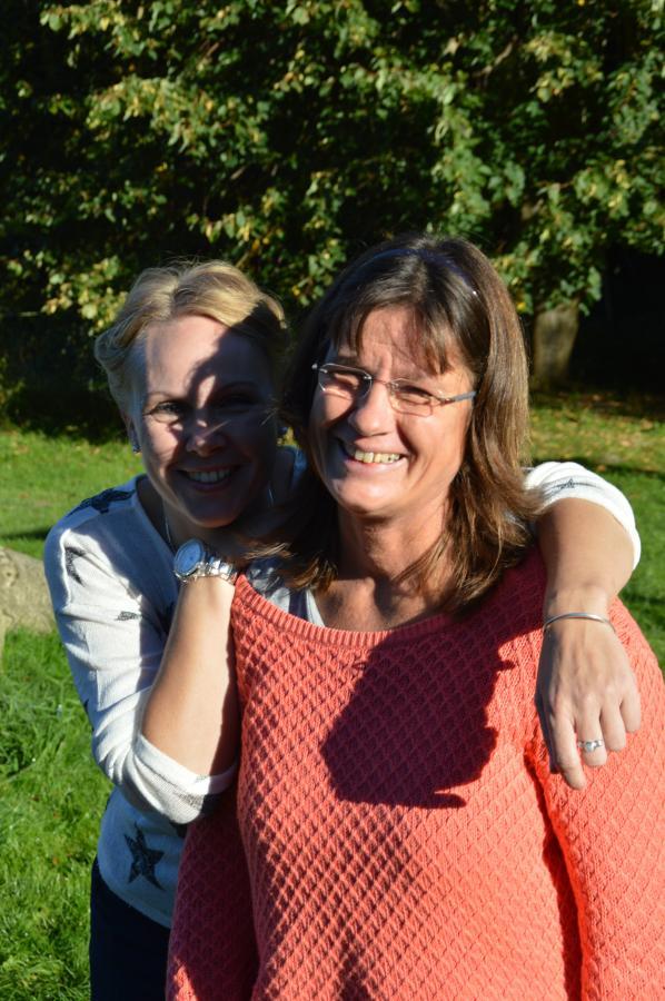 Frau Böttger und Frau Müller
