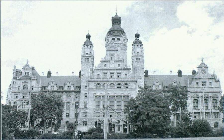 Rathaus frontal