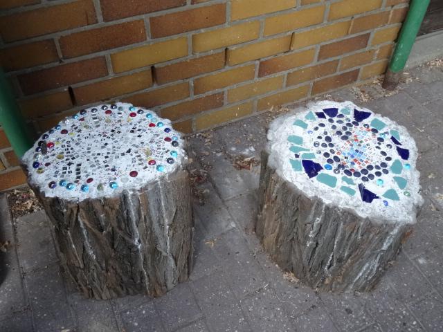 Mosaikhocker