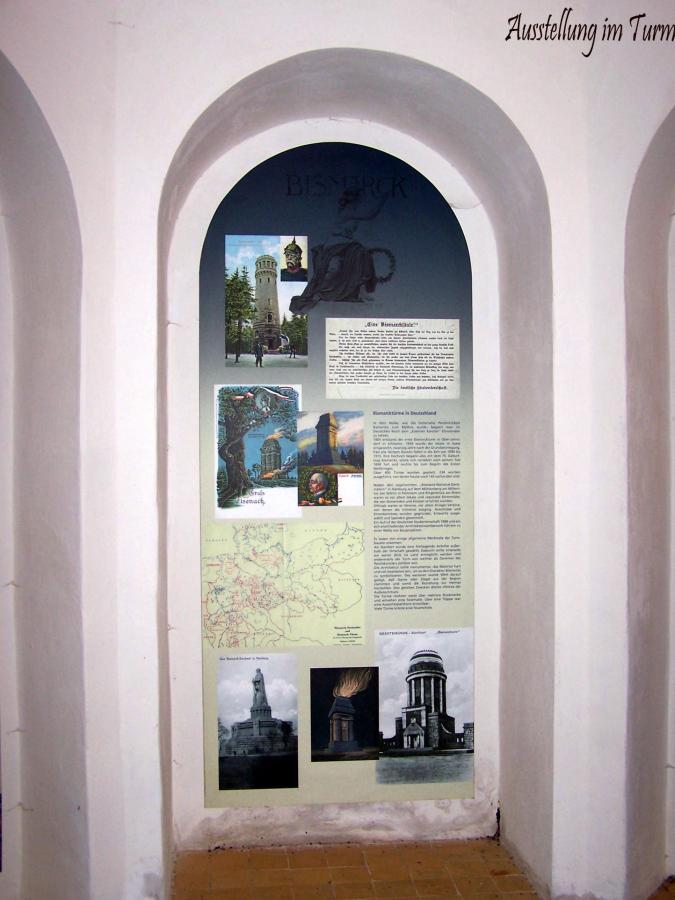 Bismarckturm Innen