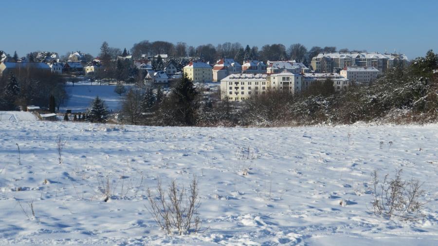 Jahnstraße mit Seniorenheim