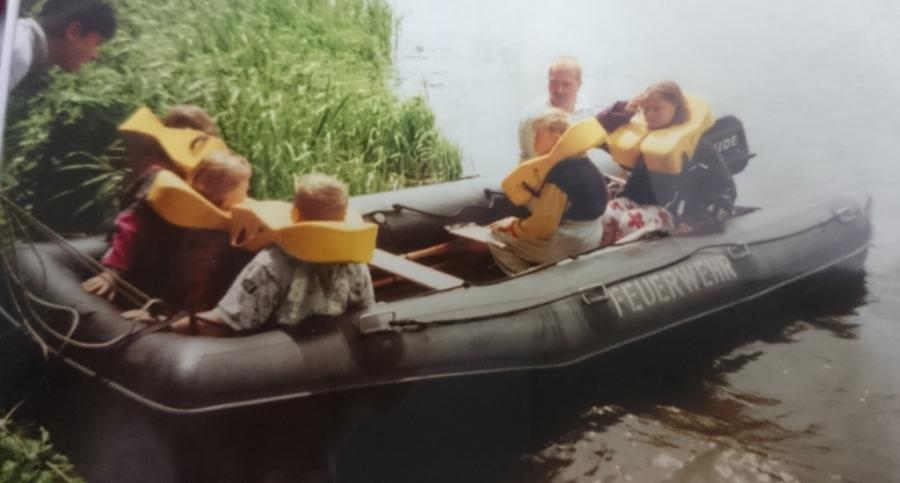 Schlauchboot 1994 - 2001
