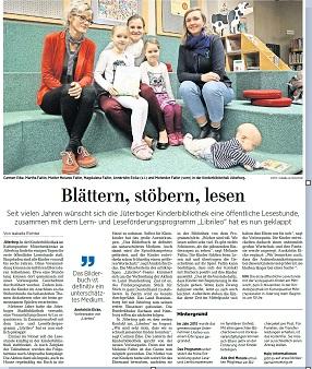 Märkische Allgemeine, Jüterboger Echo, 2.11.2017, Seite 13
