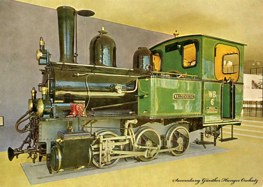 """Verkehrshaus der Schweiz Luzern Dampflokomotive """"Waldenburg"""""""