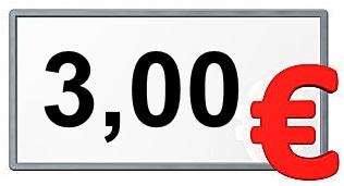 3,00 €