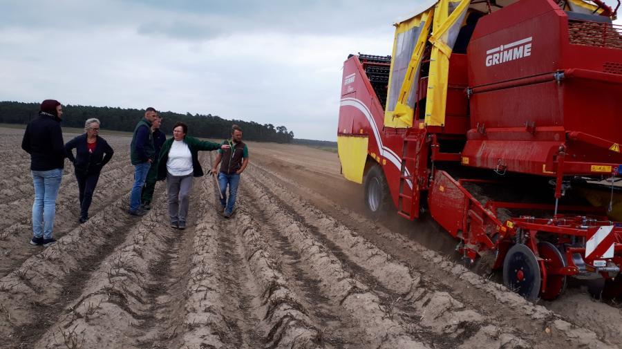 Lehrunterweisung Kartoffelanbau