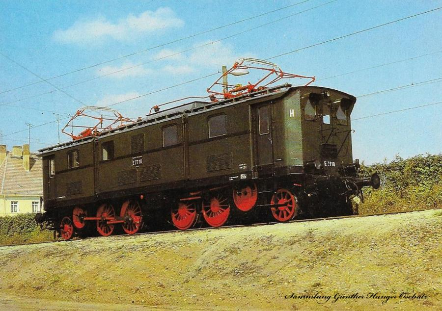 100 Jahre E-Lok Verkehrsmuseum Dresden  Elektrische Güterzuglokomotive der Baureihe E 77