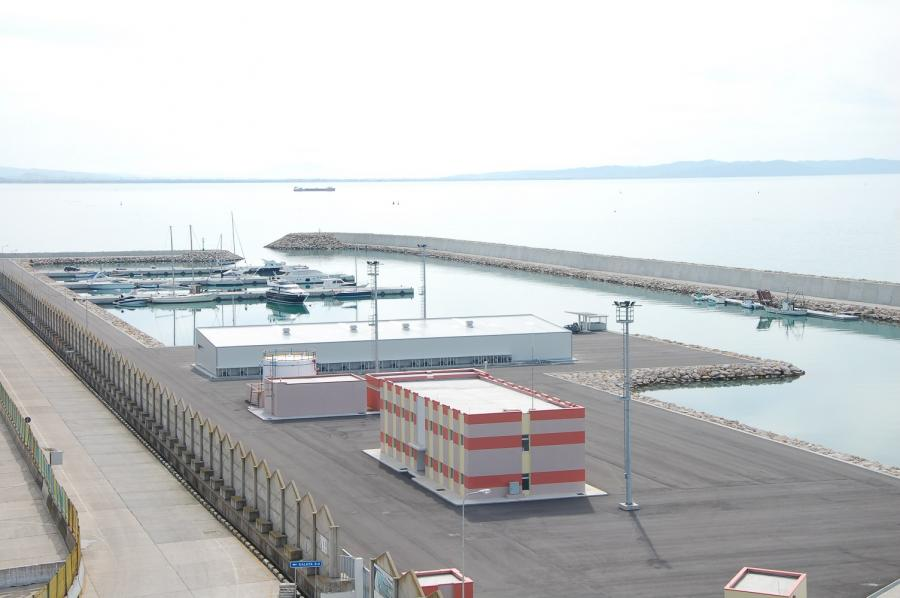 Hafen Durress Albania