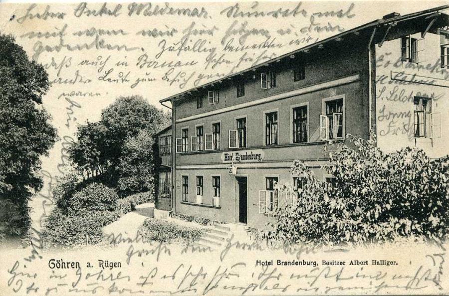 3 Göhren 1904 Hotel